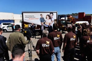 Watkins Kent Removals & Storage Hobart and Launceston launch covered by Tasmanian media outlets