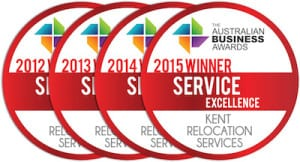 kent removalists wins 2015 service excellence award