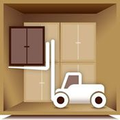 Kent's storage checklist, with packing tips for storage and furniture storage tips icon