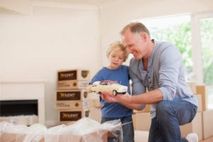 Tips and tricks for relocating or moving with kids image