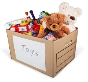 How to Pack Toys When Moving