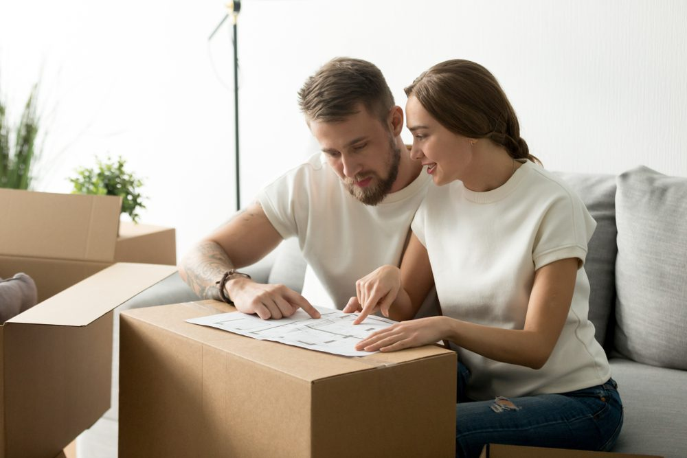 Moving in together checklist