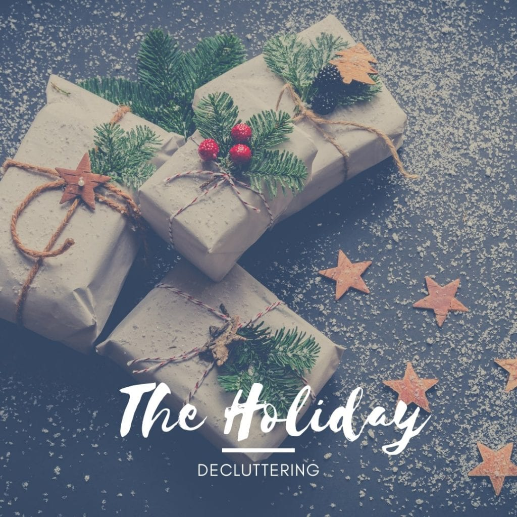 holiday decluttering guide