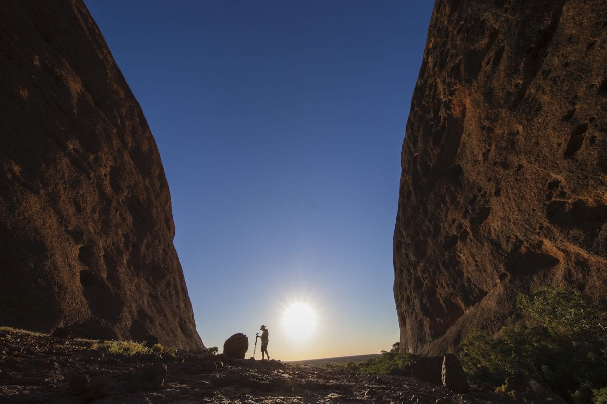 Valley of the Winds, Northern Territory walk