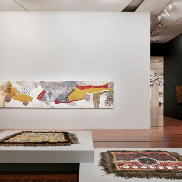 Installation view of Big Weather at The Ian Potter Centre: NGV Australia, Melbourne on display from 12 March 2021 – 6 February 2022 Photo: Tom Ros
