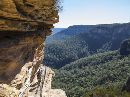 Wentworth Falls Track, New South Wales