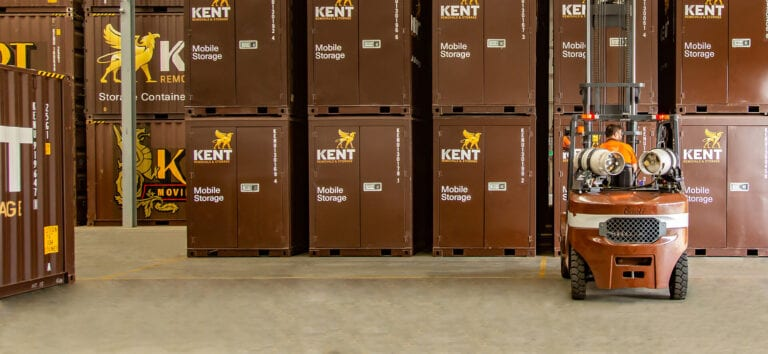 Kent Storage Forklift Stacking Containers