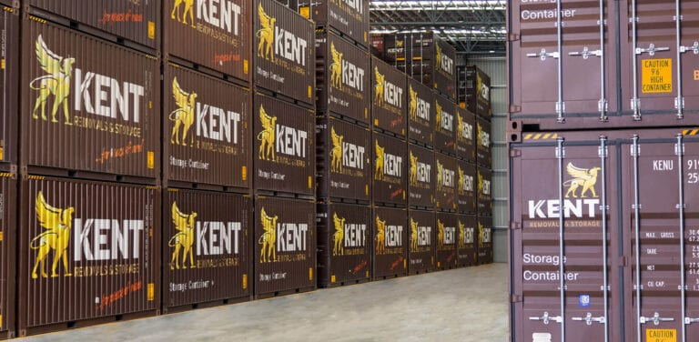 Kent Storage Stacked Containers
